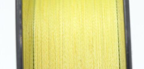 PE 6lb 300m T010 Geflochtene Schnur gelb Trout Area