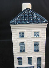 KLM BOLS Delft Blue Miniature House Hand-painted #26 Decanter Empty NO Cork