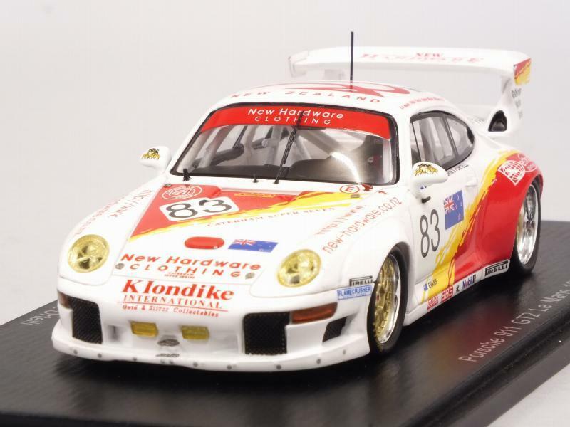 la calidad primero los consumidores primero Porsche 911 GT2 Le Mans 1996 Ortelli - Pilgrim - - - Bagnall 1 43 SPARK S5528  protección post-venta