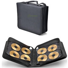 288Disc CD DVD Bluray Storage Holder Binder Book Sleeves Carrying Case Organizer