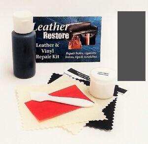 Air Dry Leather & Vinyl Repair Kit DARK GRAY Color Repair Recolor ...