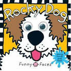 Funny Faces: Rocky Dog by Roger Priddy (Board book, 2007)