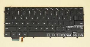 New For DELL Precision 5510 m5510 5520 5530 Keyboard UK Backlit No Frame