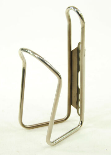 Tanaka Stainless Steel HIGH POLISHED Bicycle Water Bottle Cage Made in Japan