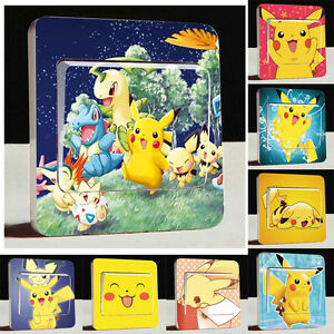 Light Switch Stickers / Stickers Interrupteur Pokémon