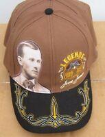 Jesse James Ol West Legend Faux Suede Bill Hat Cap Look Free U/s Shipping