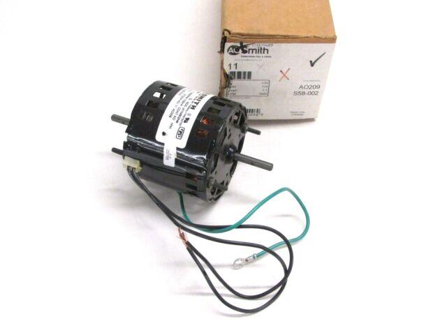 NOS Marathon 1//3 hp electric motor 440-480v 1125 rpm frame 48 48A11O114OA