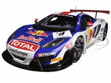 MCLAREN MP4 #9 12C GT RED BULL TOUR 2013 LOEB/PARENTE 1/18 BY SPARK 18SF002