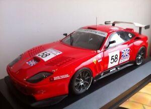 Ferrari 550 Maranello Lm à partir de 2002 au 1/18