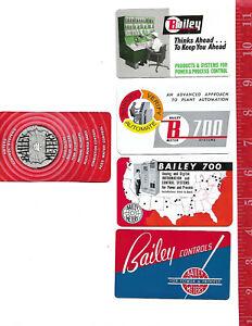 Vintage-lot-advertising-pocket-wallet-Calendars-Bailey-Meter-Company-Cleveland-O