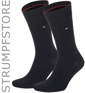 6 Paar Tommy Hilfiger Socken Classic 47-49 schwarz