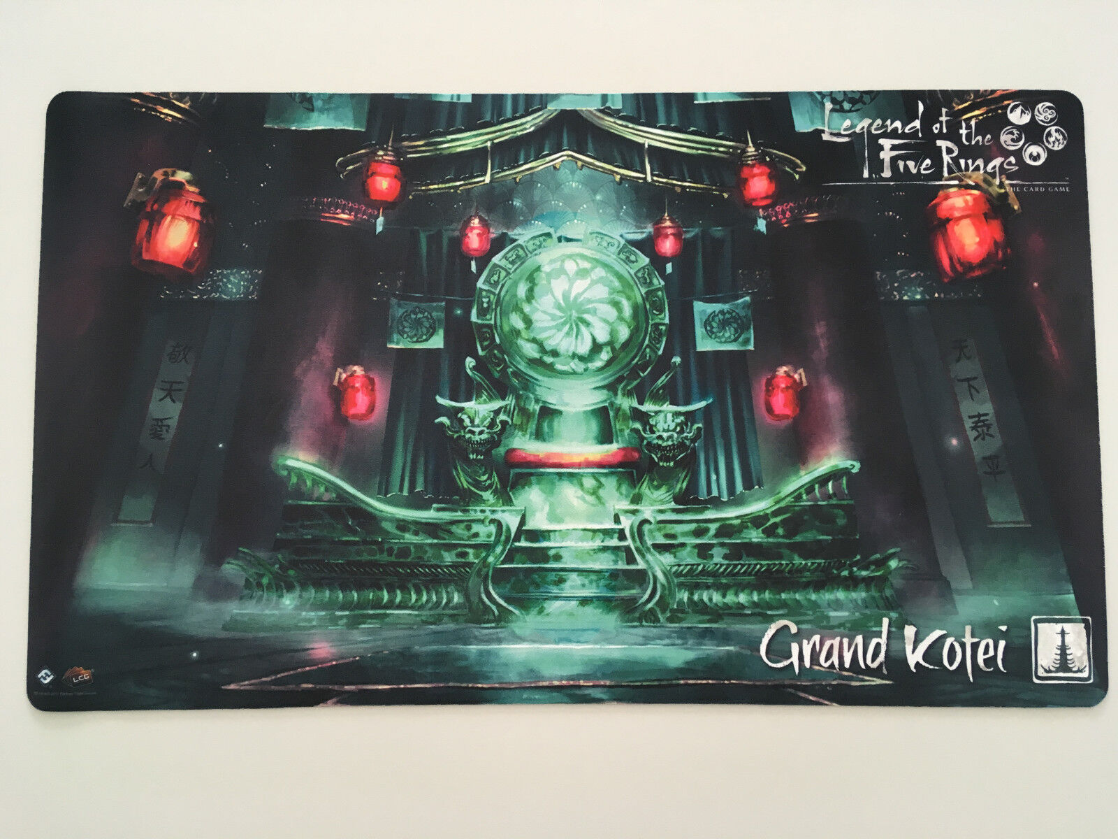 Legend of the Five Rings - L5R - Grand Kotei Playmat - Promo