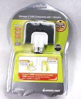 Iogear Gcs632u Miniview Micro Usb Plus 2-port Kvm Switch