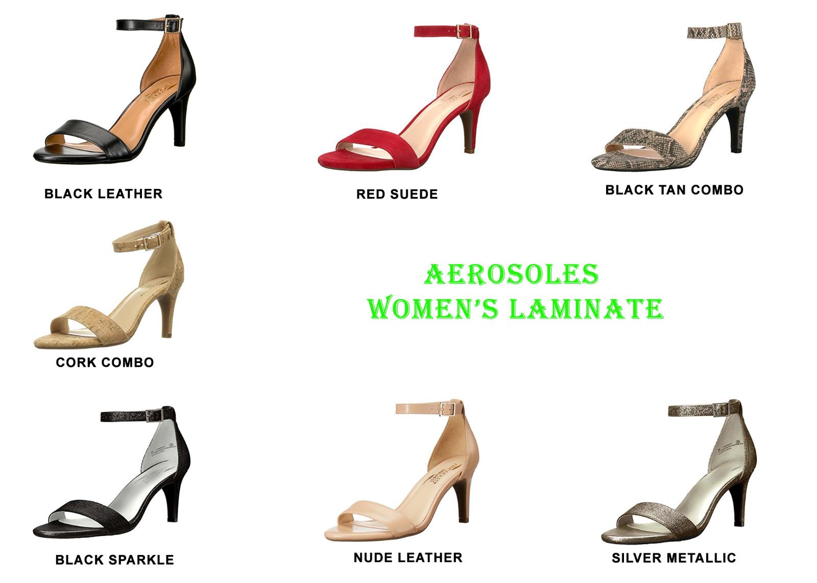 3b88ec604bfd Women s Aerosoles Laminate Ankle Strap Sandal 10 M Silver Metallic ...