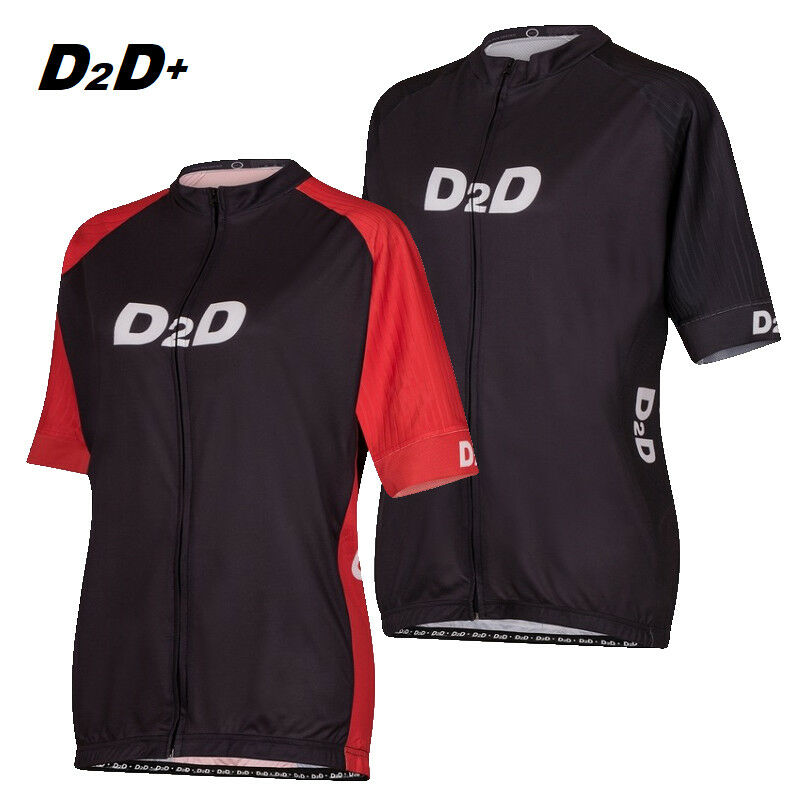 D2D p2R Ladies Plus Size Short Sleeve Cycling Jersey  Relaxed fit in 2 3 4XL+