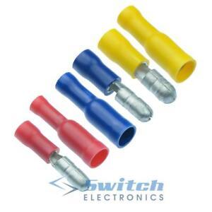 Male-Female-Bullet-Electrical-Crimp-Connector-Terminal-Terminals-Connectors