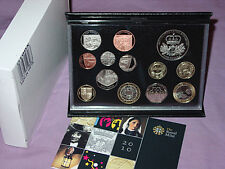 2010 ROYAL MINT DELUXE PROOF SET OF COINS - 13 Coins - FULL PACKAGING