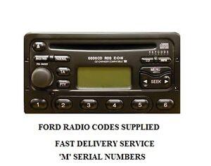 Image Is Loading Ford Radio Code Unlock