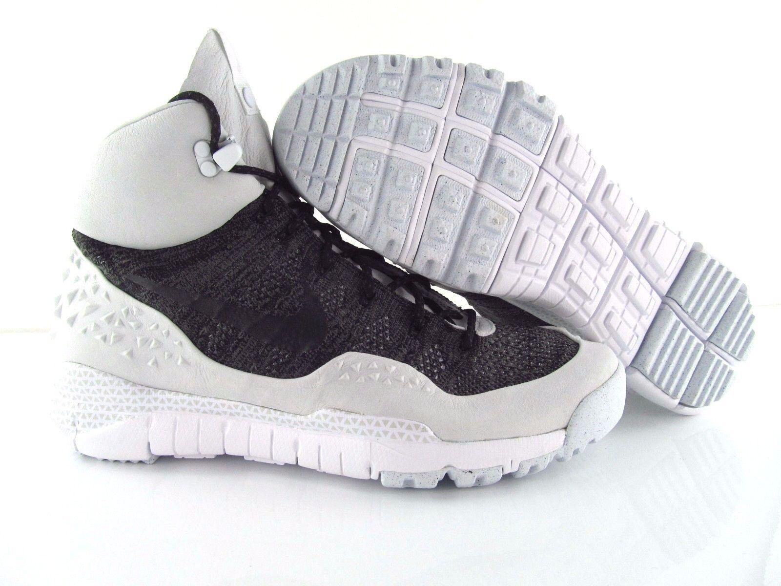 Nike Lupinek Flyknit ACG Noir blanc NIKELAB Winter UK_9 US_10 Eur 44