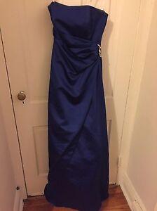 46e796be21a Davids Bridal Bridesmaid Dress S2 Royal Blue 8567 long gown prom ...