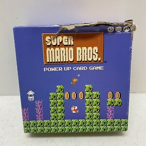 USAopoly Super Mario Bros Power Up Card Family Game Token Block Level 100% Compl