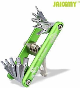 11 in 1 Multi-Function Bike Bicycle Repair Tools Pocket Folding Tool Wrench ST