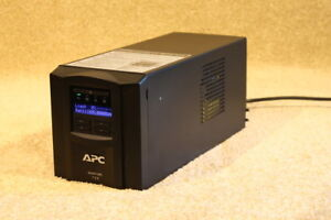 APC-SMT-750-tower-Black-with-LCD-screen-brand-new-batteries-12m-RTB-wty
