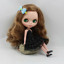 """12/"""" Neo Blythe Doll Curly Hair Factory Nude Doll from Factory XZ082"""