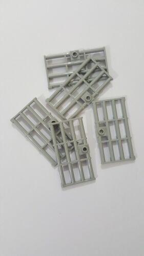 5 piezas 60621 Lego Luz Gris Azulado Puerta Manija 1x4x6 barrotes con Stud