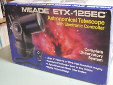 Meade ETX-125EC - Astronomical TERRESTRIAL Telescope with Electronic Controller