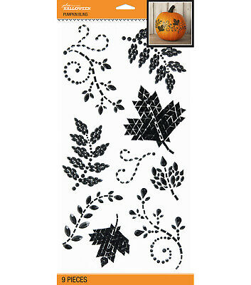 ghost pumpkin spider BOO NEW LOT OF 5 HALLOWEEN Jolee/'s Stickers