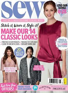 SEW Magazine Issue 141 October 2020 with Bonus Gifts
