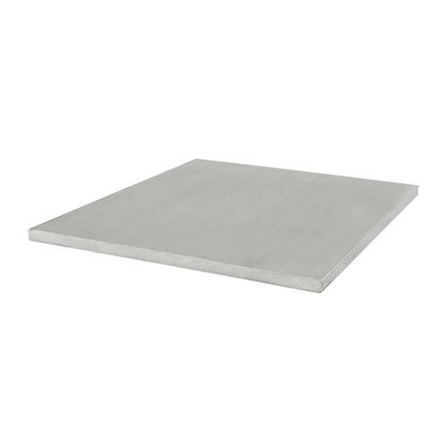 80//20 Inc 100mm x 4mm Aluminum Flat Stock 25 Series 25-8361 x 455mm Long N
