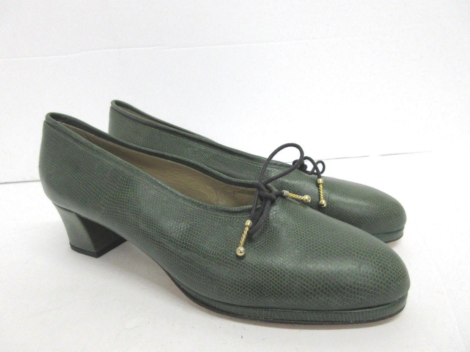 Castaner  Vintage pantofole en verde Dimensione  40 Eur, 10 Us  prezzi all'ingrosso