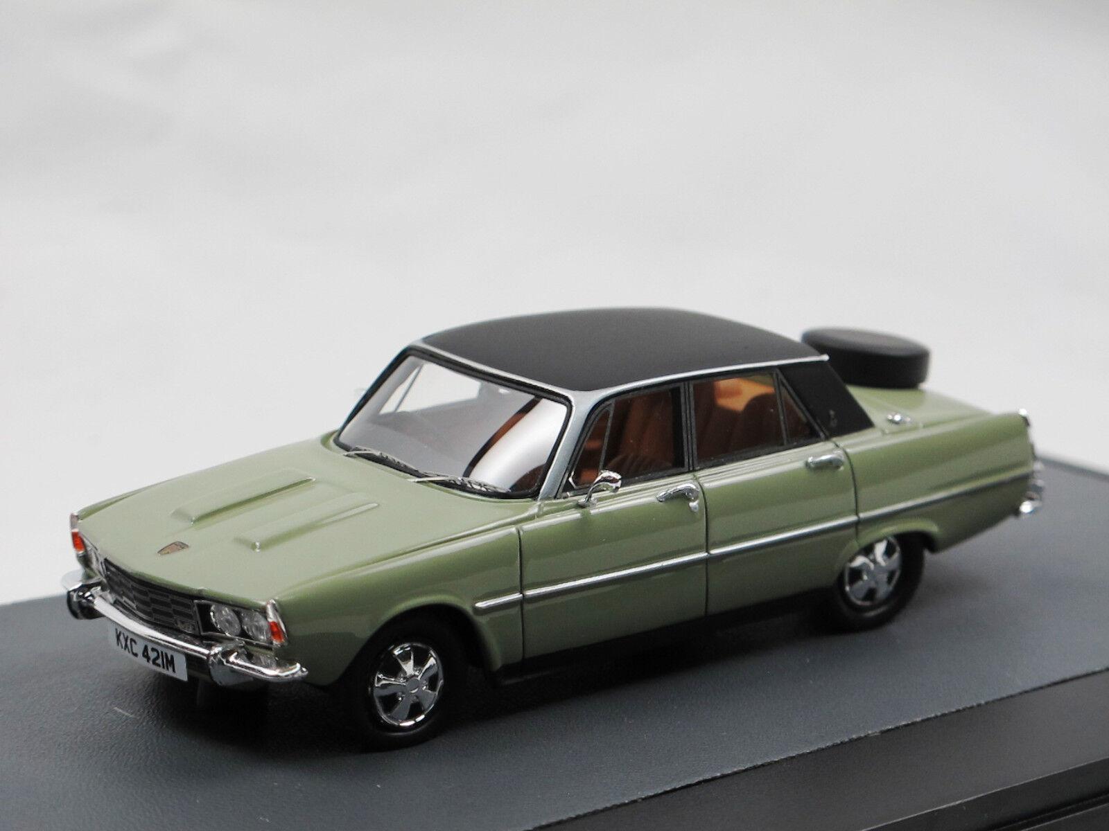 Matrix - modellen 1976 rover 3500 - p6b saloon grünen 1   43 limited edition