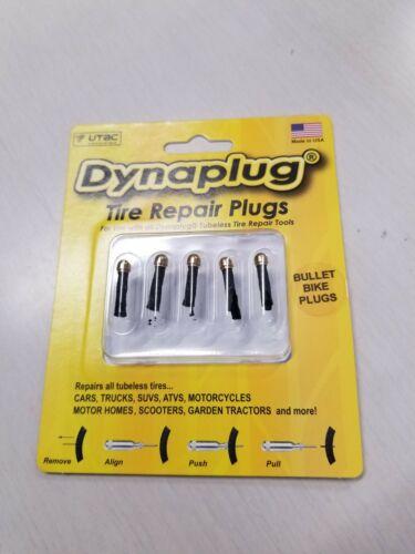 Details about  /Dynaplug Tire Repair Plugs Bullet Bike Plugs for Tubeless Tire Repair NEW 5-Pak