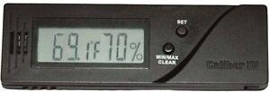 Caliber-IV-Digital-Zigarre-Humidor-Hygrometer-Kalibrierung-koennen-Western-NEU