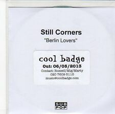 (ED78) Still Corners, Berlin Lovers - 2013 DJ CD