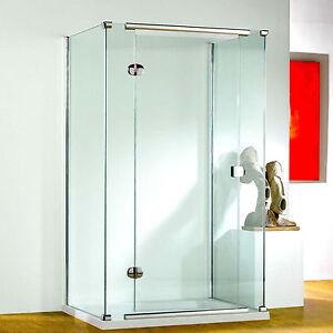 Kudos Infinite Straight Hinged Door 8mm Glass Bathroom