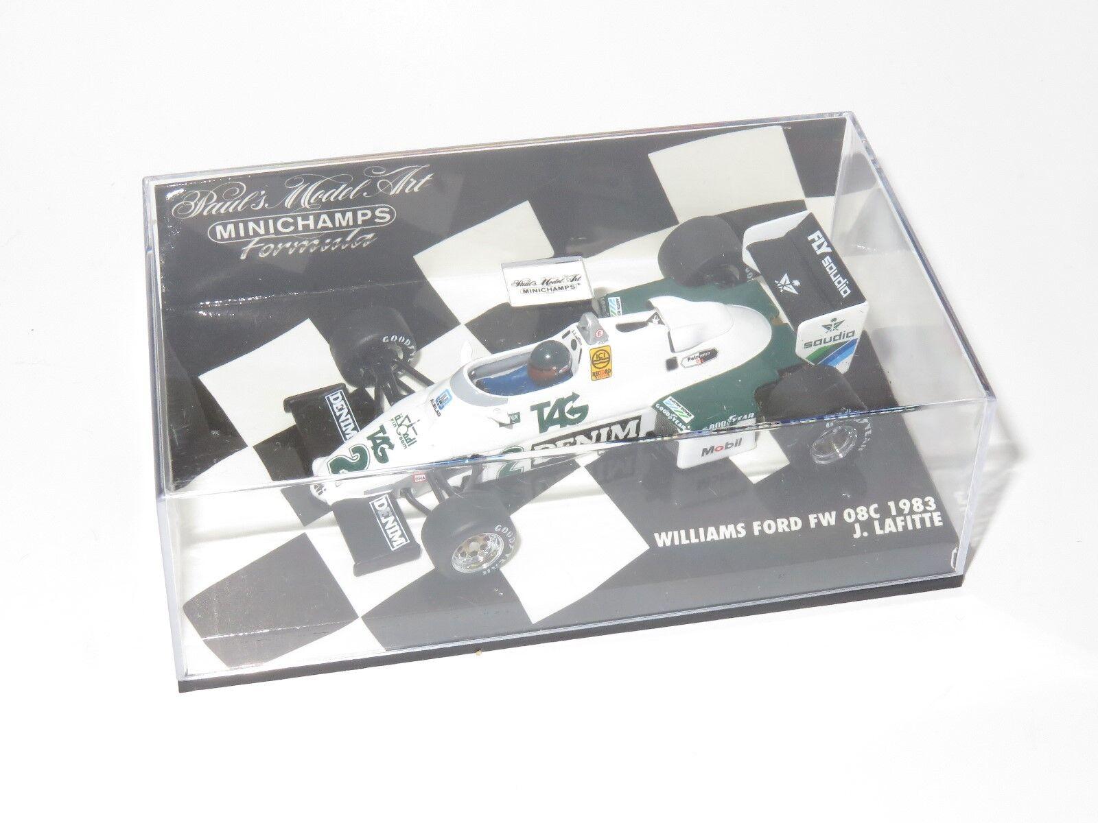 1 43 Williams Ford FW08C 1983  JACQUES LAFFITE  les dernières marques en ligne