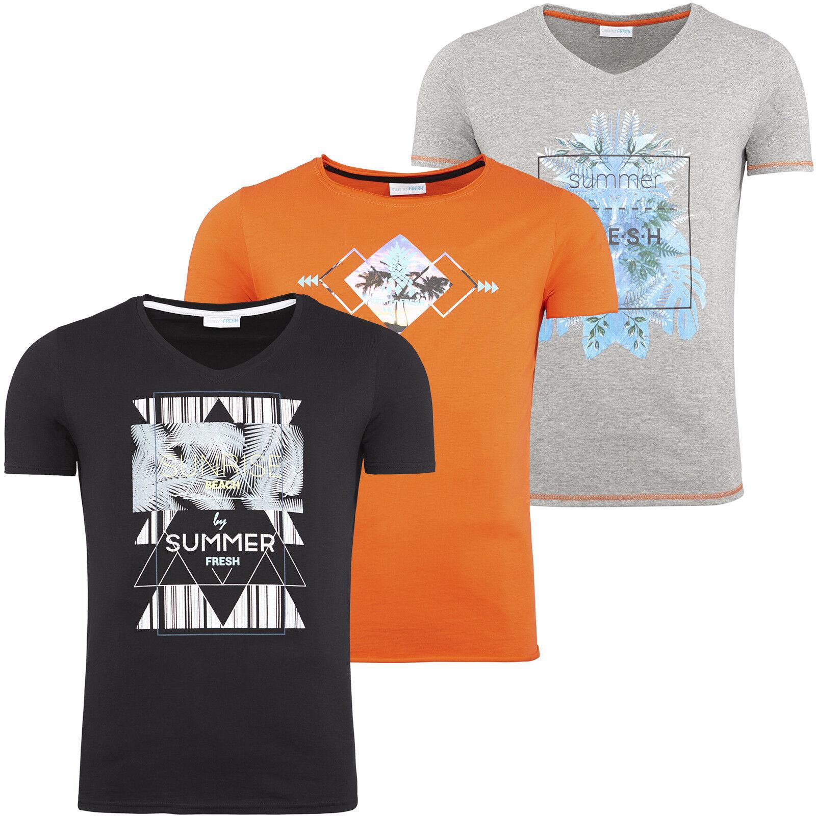 Summerfresh - T-Shirt, 100% Baumwolle, Rundhals (SF004)  | Modisch  | Hohe Qualität und geringer Aufwand  | Wunderbar