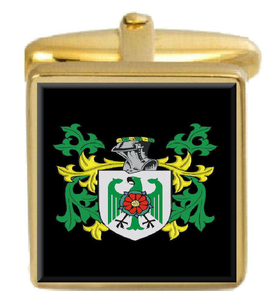 Mulcair Irlanda STEMMA STEMMA STEMMA DI FAMIGLIA cognome STEMMA Gemelli in oro incisi BOX 2a45de