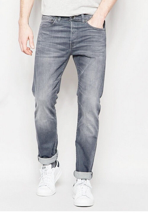 JEANS EDWIN HOMME ED 80 SLIM TAPERED (cs grey-trip used)   W32 L34  VAL
