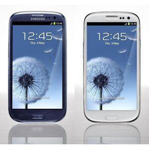 "Android Samsung Galaxy S3 SIII i9300 Original Unlocked 4.8"" 3G Wifi 8MP NFC 16GB"