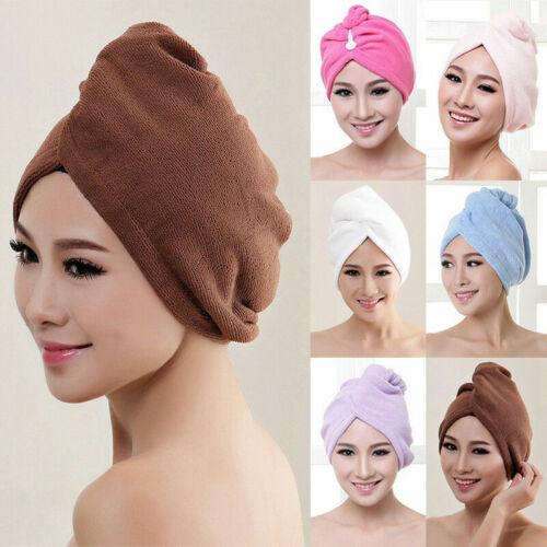 Haarturban Kopfhandtuch Haartrockentuch Handtuch Kopftuch Haar Trocken Turban