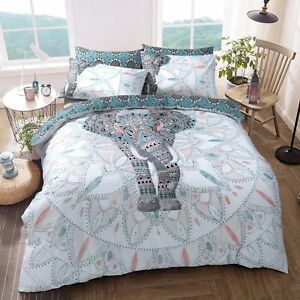 Elephant-Mandala-Duvet-Cover-with-Pillow-Case-Quilt-Cover-Bedding-Set-All-Sizes