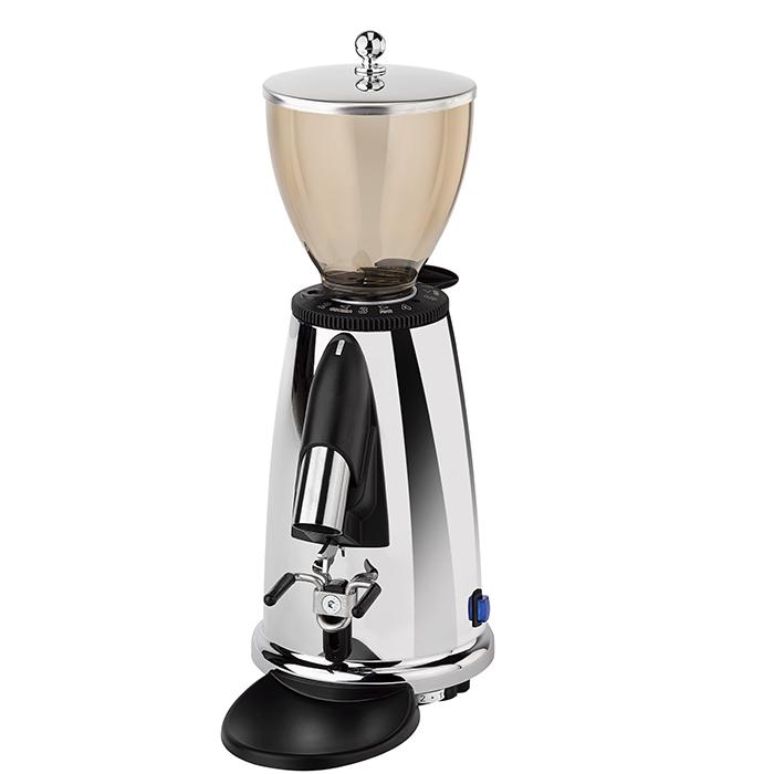 Nouveau Elektra Espresso MSDC Italian Coffee Beans burr grinder Mill Chrome 220 V