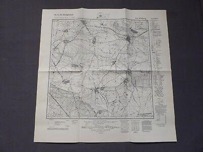 Landkarte Meßtischblatt 3141 Wildberg, Metzelthin, Garz, Nackel, Segeletz, 1945