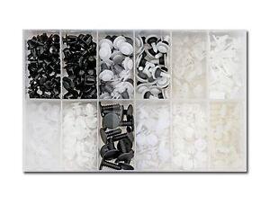 345x-CLIPS-AGRAFES-PARE-CHOC-PLASTIQUE-GARDE-BOUE-PEUGEOT106-206-306-406-806