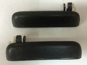 Toyota-Tercel-95-99-Door-Handle-Outer-Outside-Exterio-Front-LH-and-RH-Pair-Set